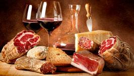 Degustazione salumi, formaggi e vino rosso - Sabato 6 Maggio, ore 20.00