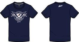 """T-Shirt """"Blitz"""" (dunkelblau oder dunkelgrau)"""