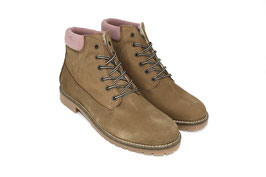 BOOT 2.0 taupe/rosa