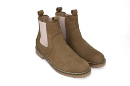 CHELSEA BOOT 2.0 taupe/rosa