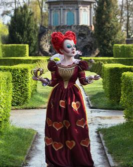 """Herzkönigin Kleid  """"Alice im Wunderland"""""""