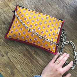 Vegane Clutch/Shoulder Bag