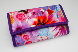 Vegan ladies purse 'FLOWER 2'
