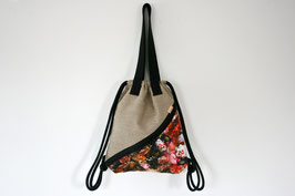 Vegan Gymbag 'FLOWER'