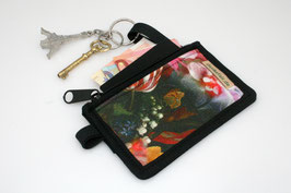Vegan Mini Wallet 'FLOWER'