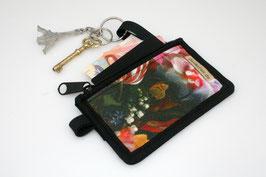 Vegan Mini Wallet 'FLOWER'