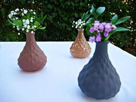 Vase gemustert