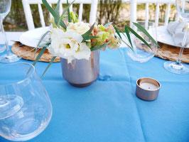 Vase kupfer schlicht