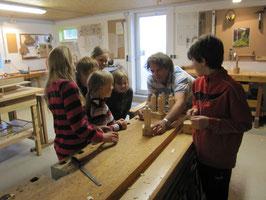 Ferienprogramm für Kinder: Kleine Skulptur