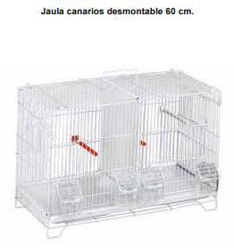 Jaula canarios desmontable 60 cm REF: 820
