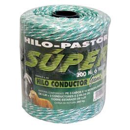 HILO CONDUCTOR VERDE 200 METROS REF: HIL-453