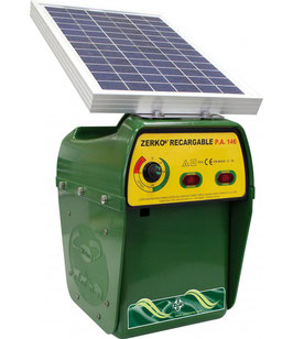 PASTOR ELECTRICO ZERKO RECARGABLE SOLAR REFPA.12Pastor electrico Zerko-recargable solar REF: PA-12