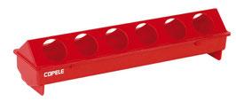 COMEDERO 50 CM 10 HUECOS PVC REF: PAL-578