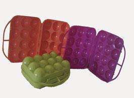 6 hueveras plastico colores REF HUEP-001