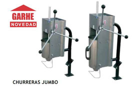CHURRERAS JUMBO TODO INOXIDABLE