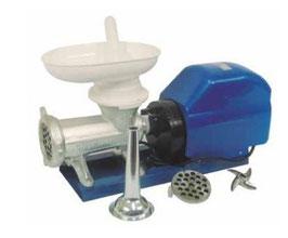 Picadora-embutidora eléctrica nº 32  boca ovalada extra ancha MOTOR MR10 REF:070