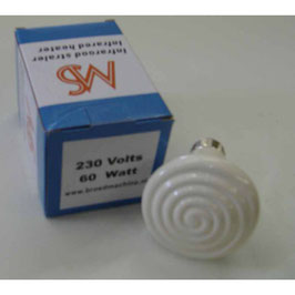 Bombilla 60w ceramica infrarrojos