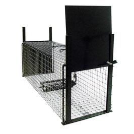 Jaula de captura con doble puerta 120 x 35 x 45 cm REF: JAU-004