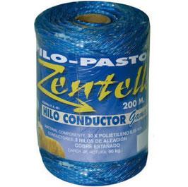 HILO CONDUCTOR AZUL 3 HILOS ZENTELLA REF: HIL-451
