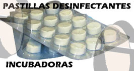 PASTILLAS DESINFECTANTES INCUBADORAS REF DES-002
