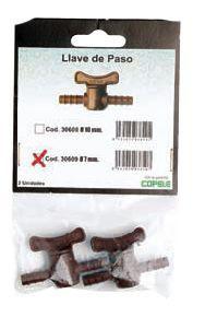 LLAVES DE PASO BLISTER 2 UNIDADES