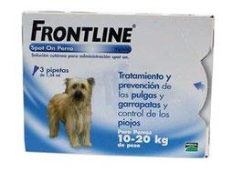 Pipetas antiparasitario  externo FRONTLINE REF: FRO-1