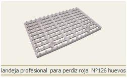 BANDEJA INCUBACION HUEVOS DE PERDIZ REF BAN-003