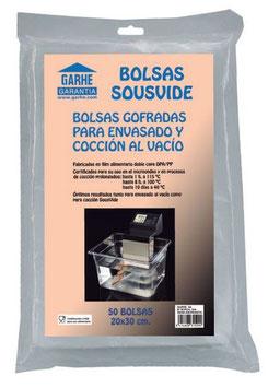 BOLSAS SOUSVIDE 20X30 REF:520