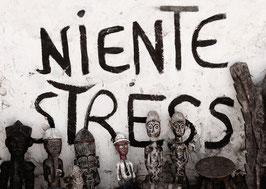 Postkarte: NIENTE STRESS