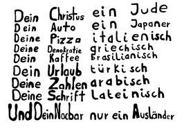 Postkarte: Dein Christus ein Jude