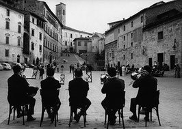 Postkarte: Platz-Konzert