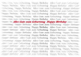 Doppelkarte: Ein scharfer Geburtstag