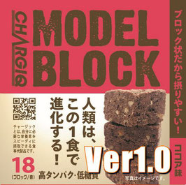 MODELブロック(ココア味)Ver1.0 高タンパク/低糖質