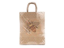Papier - Tragetasche mit Bienenmotiv