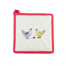 "Topflappen ""Chicken Range"" (Gewinner: Beste Ökologische Geschenkidee 2014)"