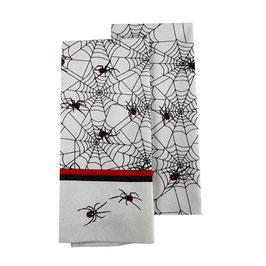 """Geschirrhandtuch Doppelpack (2 Stück) """"Red Back Spider"""""""