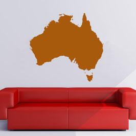 "Wandtattoo ""Australia Map"""
