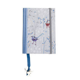 "Tagebuch/Notizbuch aus 100%-Recyclingpapier ""Blue Wren"""