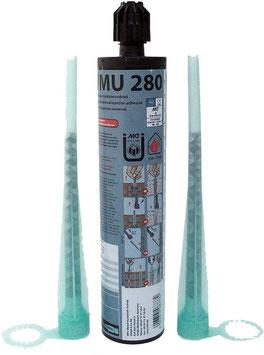 Montagemörtel MKT VMU Plus 280, ETA Zulassung, inkl. 2 Mischer