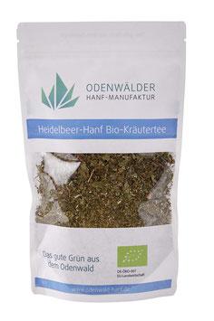Hanf-Heidelbeerblätter Tee