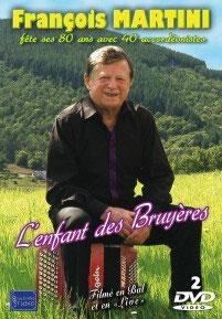 """DVD François MARTINI """"L'enfant des bruyères"""" 19.90€"""