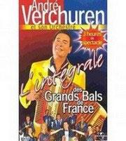 """DVD André VERCHUREN """"Les grands bals de France"""""""