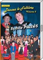 """DVD Sylvie PULLES """"Dansez le folklore vol 2"""" 19€90"""