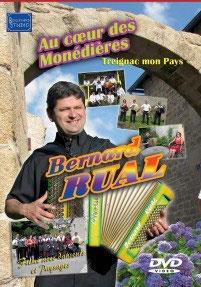 """DVD Bernard RUAL """"Au coeur des Monédières"""""""