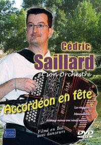 "DVD Cédric SAILLARD ""Accordéon en fête"""