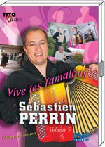 """DVD Sebastien PERRIN """"Vive les tamalous"""""""