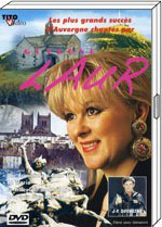 """DVD Guylène LAUR """"Les plus grands succès d'Auvergne"""""""