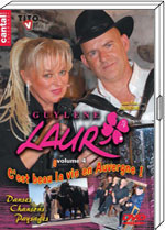 """DVD Guylene LAUR """"C'est beau la vie en Auvergne""""  19.90€"""