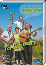 """DVD Dominique FLOQUET  """" Toi mon Berry"""" 19.90€"""