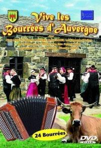 """Nouveauté  DVD  """"VIVE LES BOURREES d'AUVERGNE"""""""